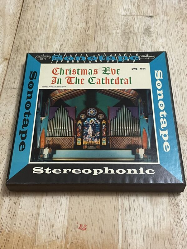 Christmas Eve In The Cathedral Reel to Reel Sonotape Great Shape!!