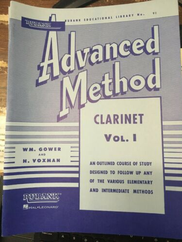 Rubank Advanced Method Vol. 1 for Clarinet