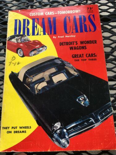 Original 1953 Dream Cars Magazine trend 107