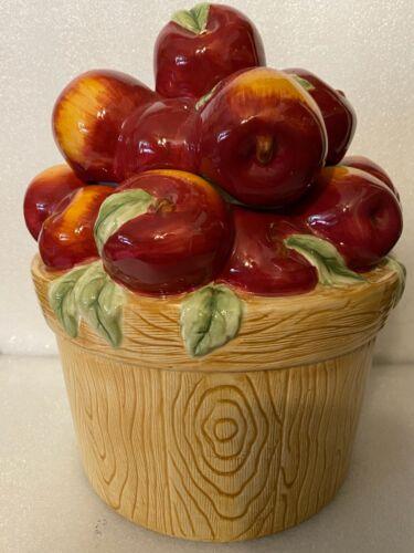 Apples in a Basket Cookie Jar by: Oneida