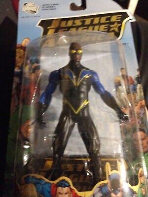 Black Lightning Justice League America series 1 DC Direct action figure New (1 Black Lightning Action Figure)