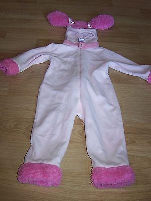 Toddler Girls Size XS Gymboree Pink Poodle Dog Halloween Costume EUC