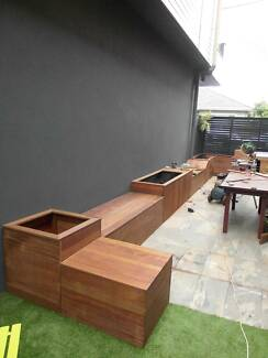 Dual Purpose Garden-Bench-Seat-Storage-Box With Backs