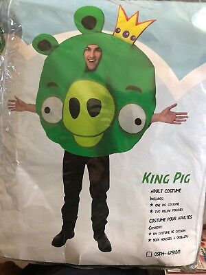 ANGRY BIRDS KING PIG  ONE - Angry Birds Halloween Kostüme