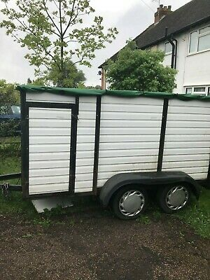 Twin Axle Box Trailer (Horse Box Conversion)
