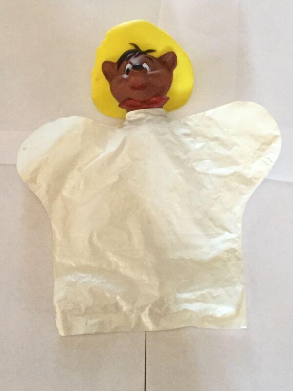 Vintage Speedy Gonzalez Plastic And Rubber Hand Puppet Made Japan  Warner Bros