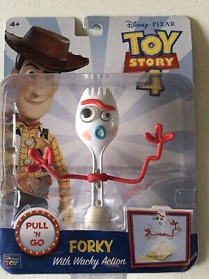 Thinkway Toys Disney Toy Story 4 Forky Action Figure NEW