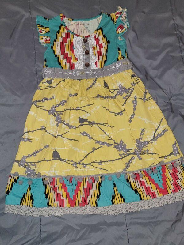 Mustard Pie Girls Summer Dress 6