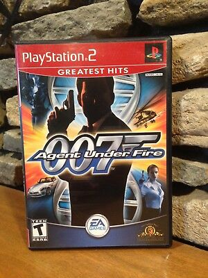 James Bond 007 in Agent Under Fire Greatest Hits (Sony PlayStation 2, 2002)