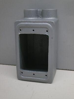 Appleton Fds-1-50 12 Malleable Iron Deep Type Cast Device Box Single Gang