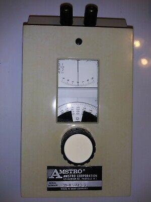 Vintage Siemens Amstro Portable Resistance Bridge Model Sk-1 With Instructions