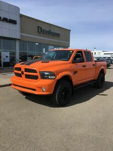 2019 Ram 1500 Classic Express Ignition Orange