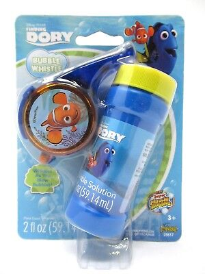 Disney Finding Dory Bubble Whistle Outdoor Bubble Toy Bubbles