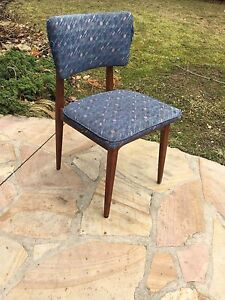 4 Teak Dining Chairs