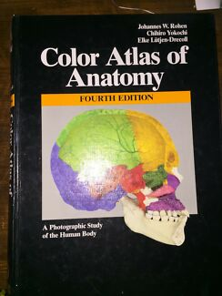Medical Textbook - Colour Atlas of Anatomy
