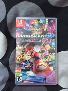 Mario Kart 8 Deluxe and Super Smash Bros Ultimate for Switch