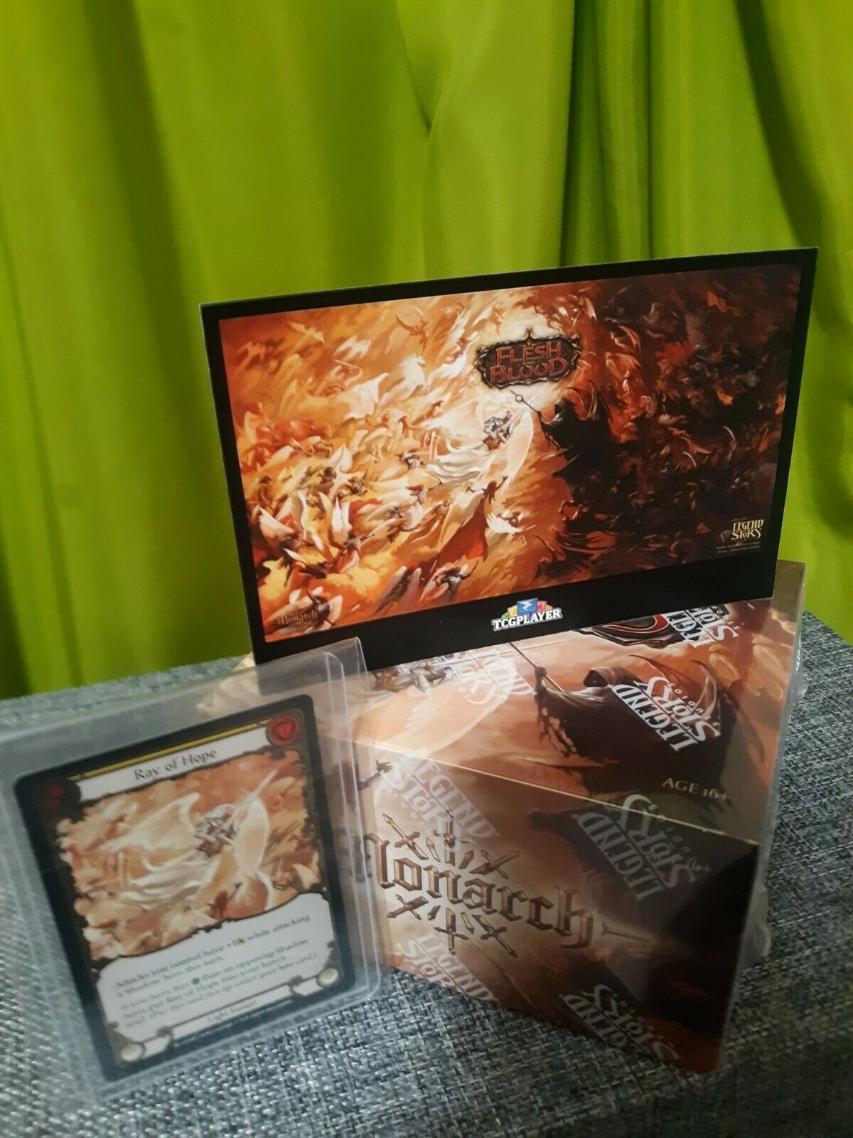 Flesh And Blood Monarch - At Home Release Kit Sealed  - $449.00