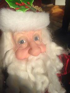 Santa Claus -a Jacqueline Kent Jolly St. Nick figurine  London Ontario image 2
