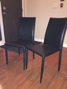 Dining table chairs 6 pcs
