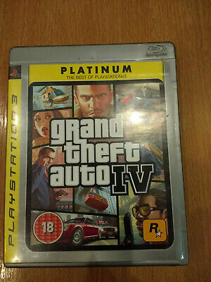 Grand Theft Auto 4 (GTA IV) Playstation 3 PS3  for sale  Shipping to Nigeria