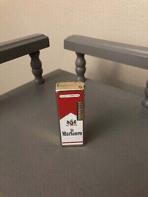 Vintage Original MARLBORO Advertising Cigarette Lighter