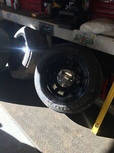"20"" Mickey Thompson Big Rig rims 8x6.5"