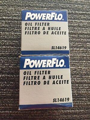 Engine Oil Filter Powerflo SL14619 PH4619 PH2801 PH3985 FL-306 51626