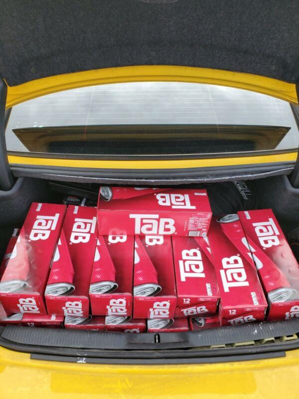 12 Pack Of Tab Soda Cola Brand New Unopened.. Rare Coca-cola Tab Soda!!