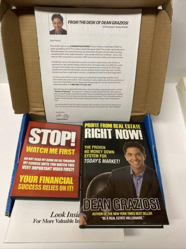 Dean Graziosi, Books, DVD