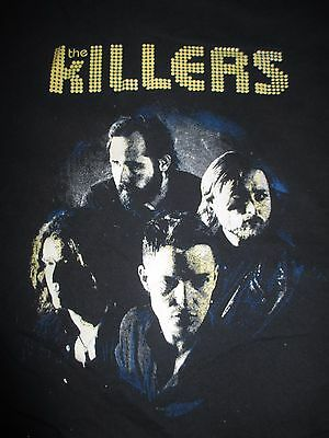 "2013 The KILLERS ""Return Battle Born"" Concert Tour (XL) T-Shirt BRANDON FLOWER"