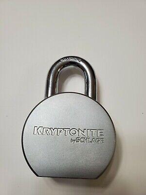 Schlage Kryptonite Ks72m1200 Steel Body Padlock. No Cylinder-accepts Best Sfic