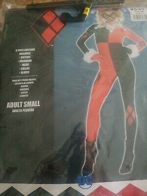 Batman Harley Quinn Jumpsuit Costume for Adult Size Small #14](Harley Quinn Costume For Adults)