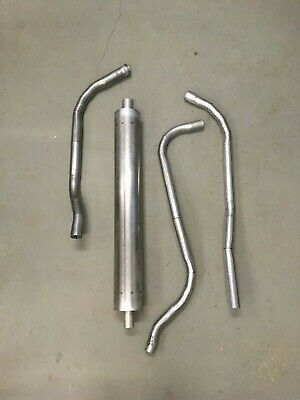 1939 Packard Series 110 Model 1700 6 Cylinder Stock Exhaust System  for sale  Shipping to Canada