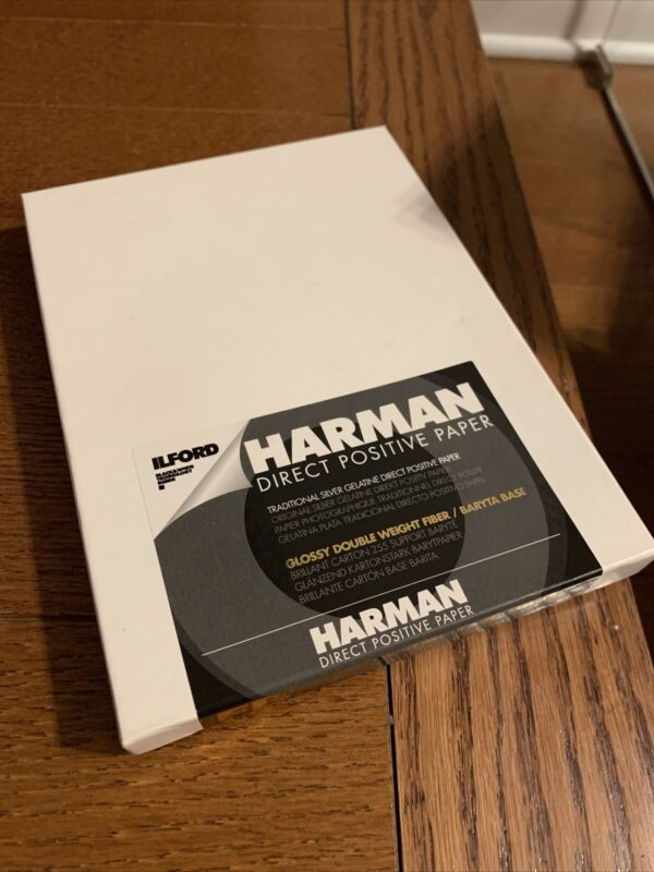 Harman Direct Positive FB Glossy Paper, 5x7 In, 25 Sheets #1171169