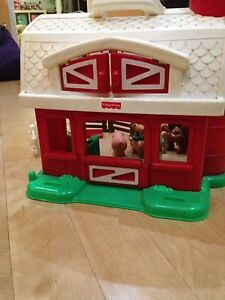 Fisher Price Farm with animals