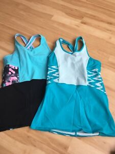 Ivivva tank tops size 14 - $20 each