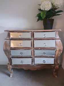 Stunning Rare Provincial Rustic Curved Mirrored Draws Cabinet Carrum Downs Frankston Area Preview