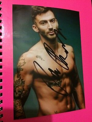 Jake Quickendens - Dancing On Ice Signed Printed Photo 6x4