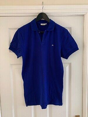 J.Lindeberg Polo Shirt Small - Blue