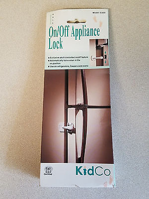 - KidCo One Unit On/Off Appliance Lock Model # S330 (NEW)