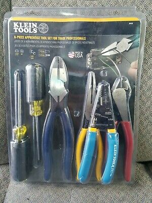 Klein Tools Electrical Tool Set Handheld Hot Riveted Joint 6-piece