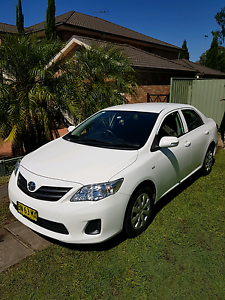 2011 Toyota Corolla  sedan for Lease - UBER Westmead Parramatta Area Preview