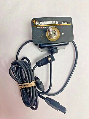 Humminbird Boat Transducer Fishfinder Selector A B Switch SS1-6