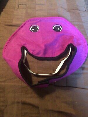Barney The Dinosuar Child Costume Halloween Dress Up Small Vintage 1993 5-6-7](Barney Halloween Costume)