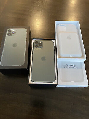 Apple iPhone 11 Pro - 256GB - MidnightGreen Unlocked w/ Apple Smart Cse