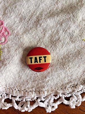 Taft Campaign Button