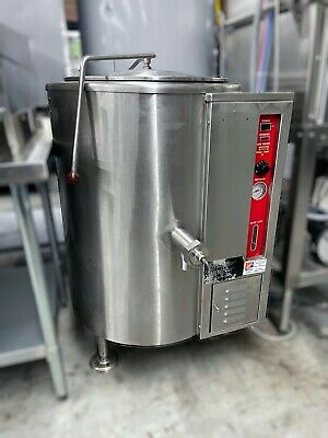 Used Vgl-20 Vulcan 20 Gallon Gas Steam Jacketed Kettle