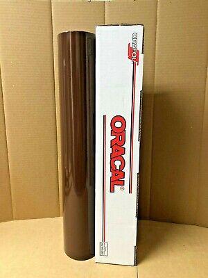Oracal 651 1 Roll 24 X 10yd 30ft Brown 080 Gloss Sign Vinyl