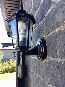 5 luminaires détecteur mouvement