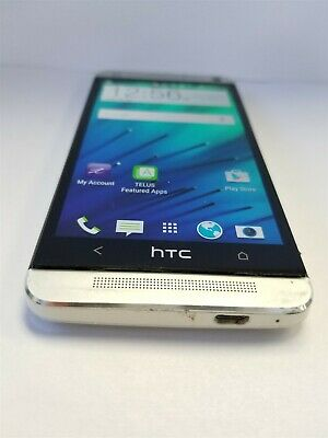 HTC One 32gb Silver PN07120 (Unlocked) Great Phone Discounted NW2963
